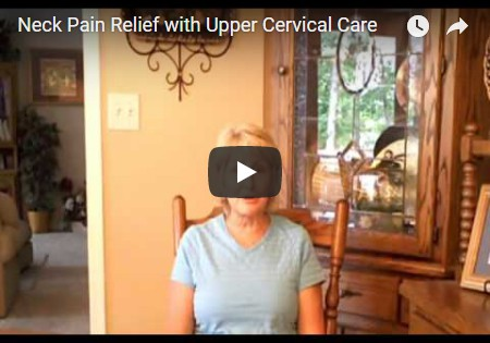 Upper Cervical chiropractic success story - Neck pain