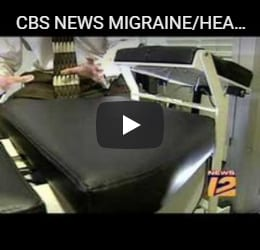 CBS NEWS MIGRAINE/HEADACHE RELIEF DR RYAN ALTER