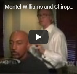 Montel Williams and Chiropractic