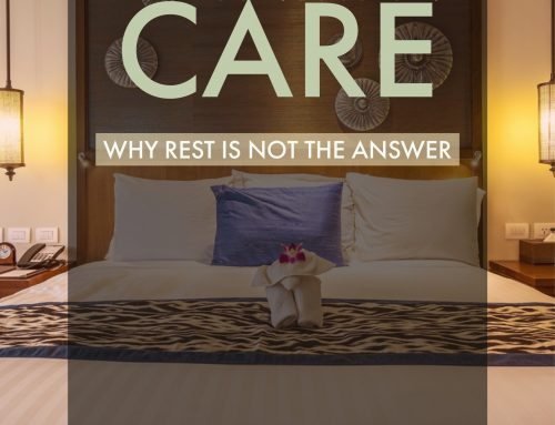 Post-Concussion Care—Why Rest Is Not the Answer