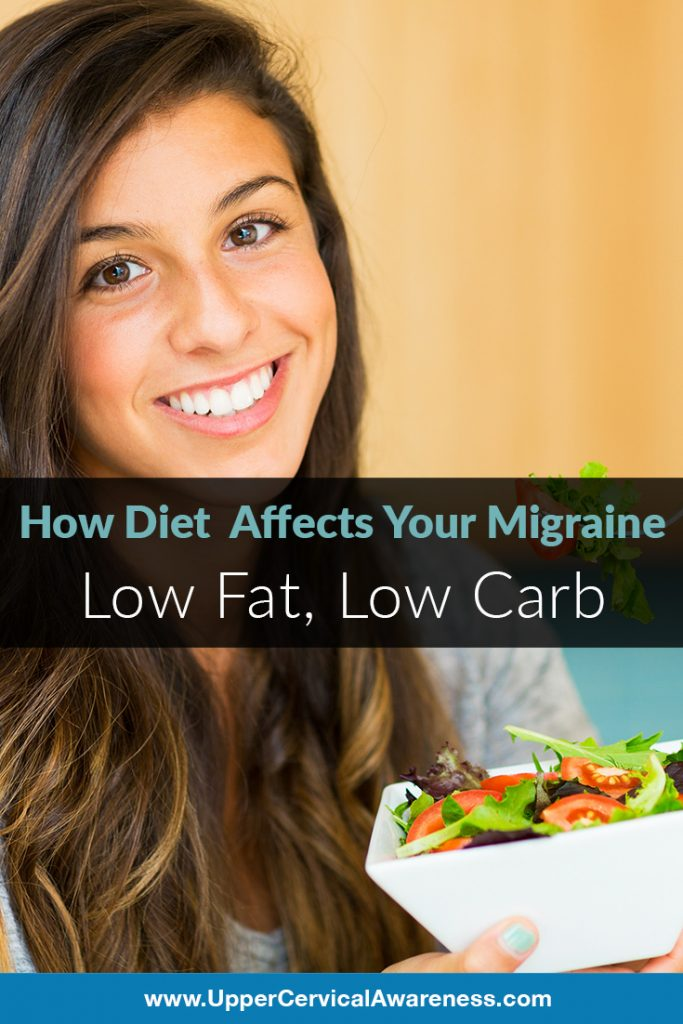 Can Low Fat and Low Carb diet lessen migraine pain?