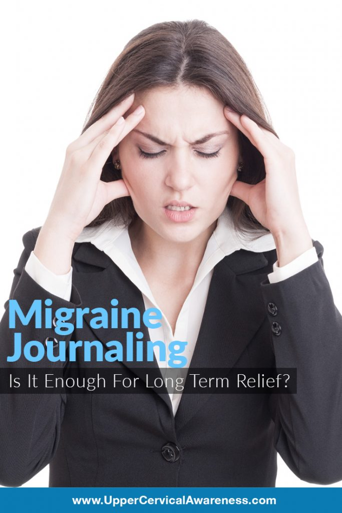Why migraine journal is insufficient in finding it's long term relief?