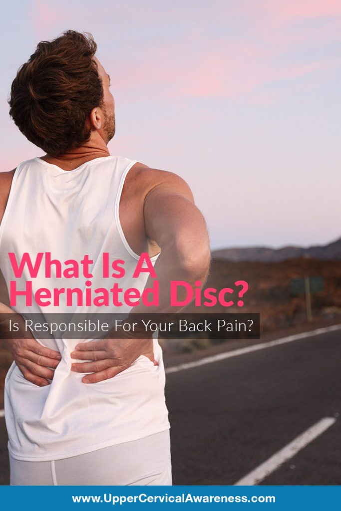 How herniated disc causes back pain?