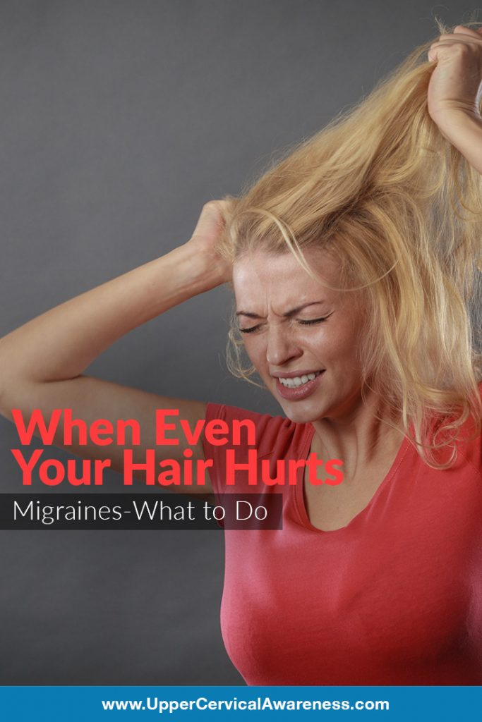 Tips in managing hair pain while experiencing migraine