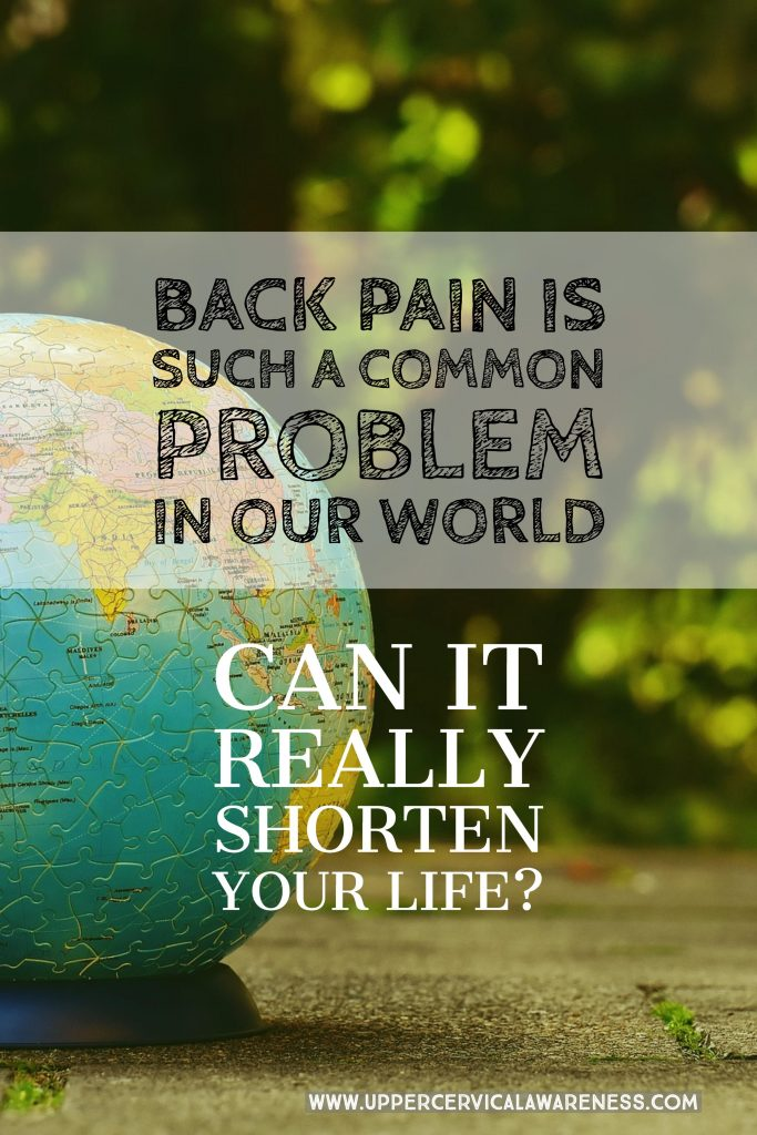 Can back pain shorten your lifespan?