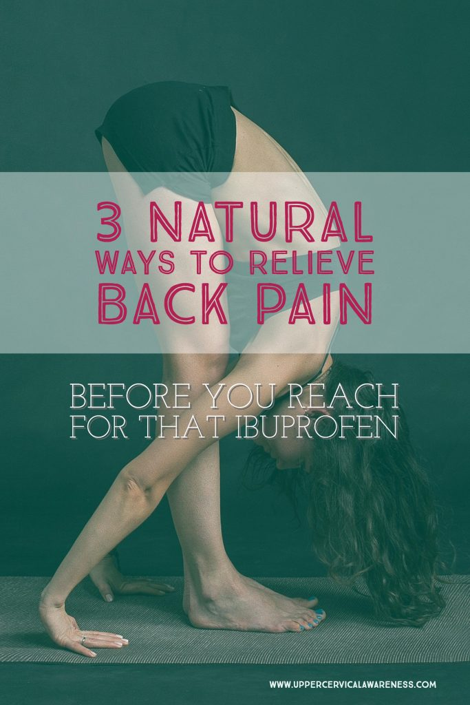 3 Natural Back Pain Relief