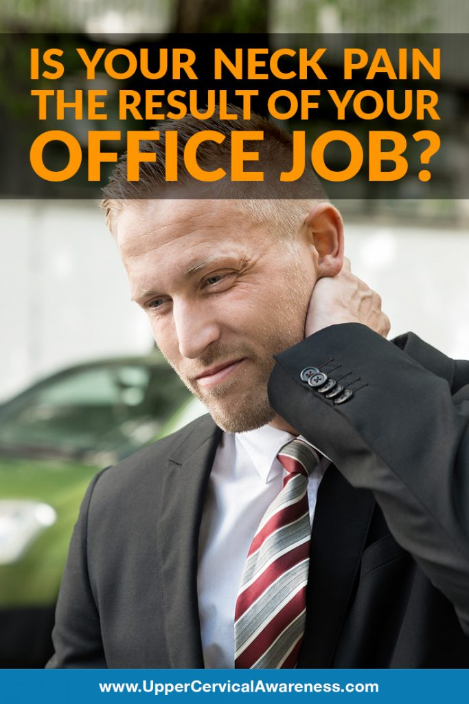 Is your office job causing you to have neck pain?
