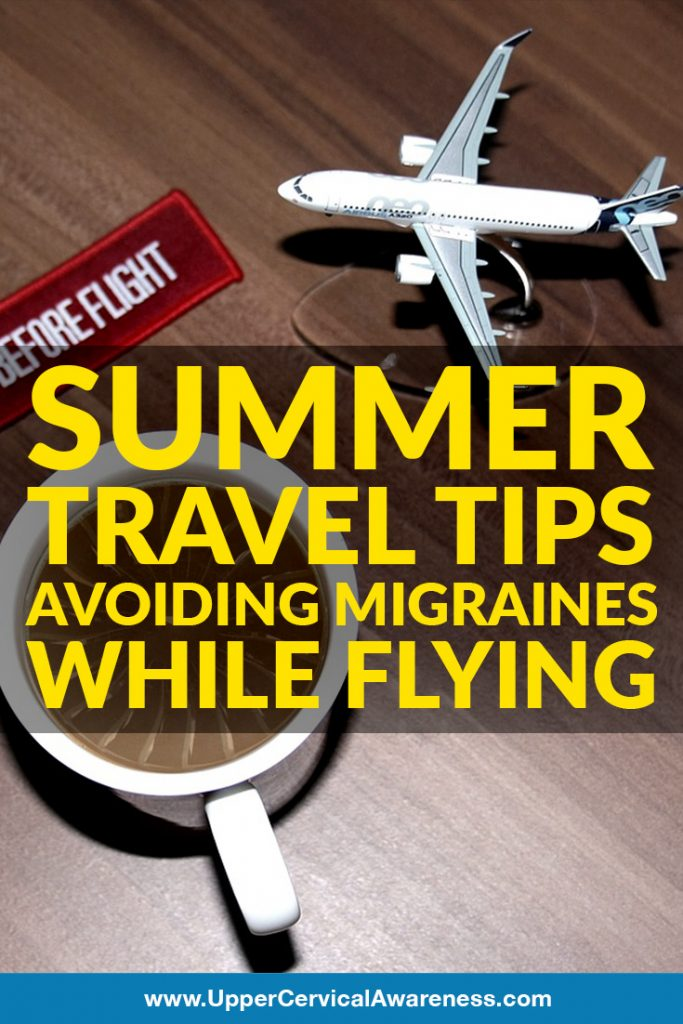 How to avoid migraine while travelling by plane?