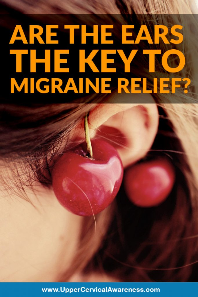 Possible relief from migraine through ear exam