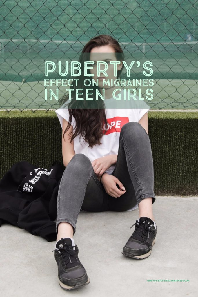 How puberty influences migraine in teenage girls?