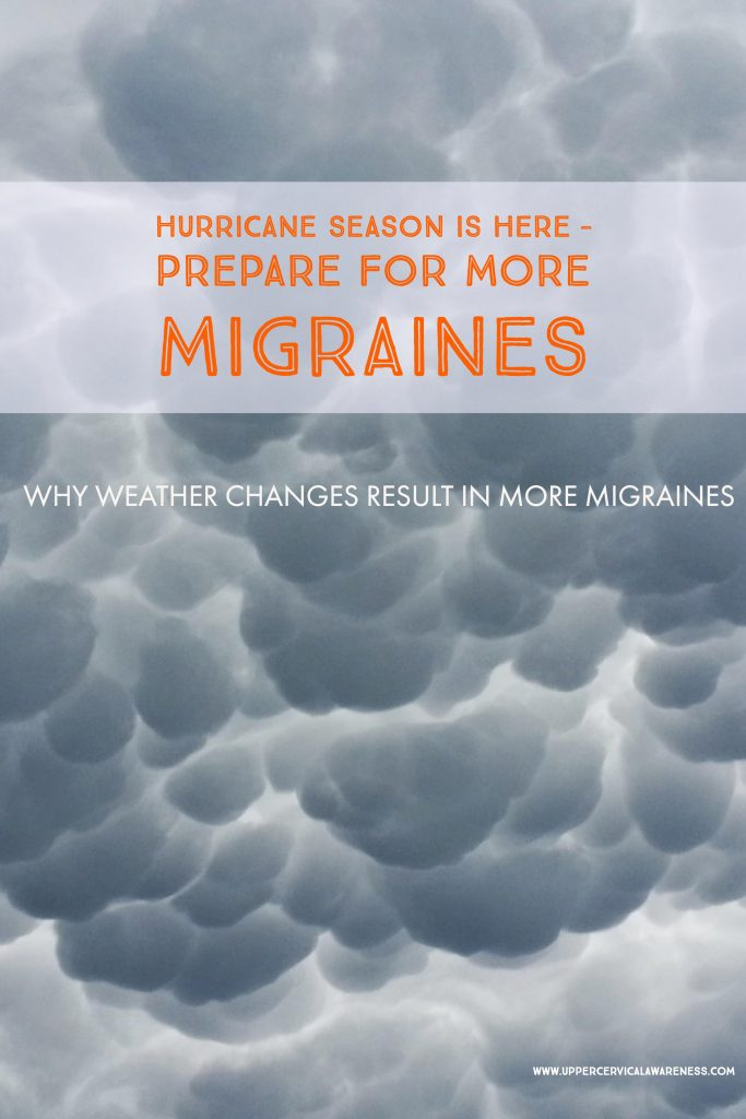 Why Hurricane season triggers frequent migraine attacks