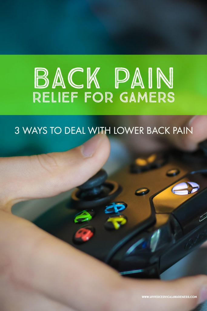 Where to find relief from back pain for gamers
