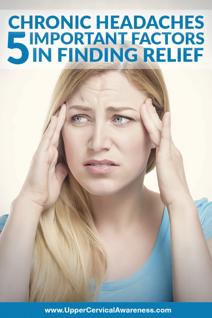 5 important factors in finding relief for chronic headache