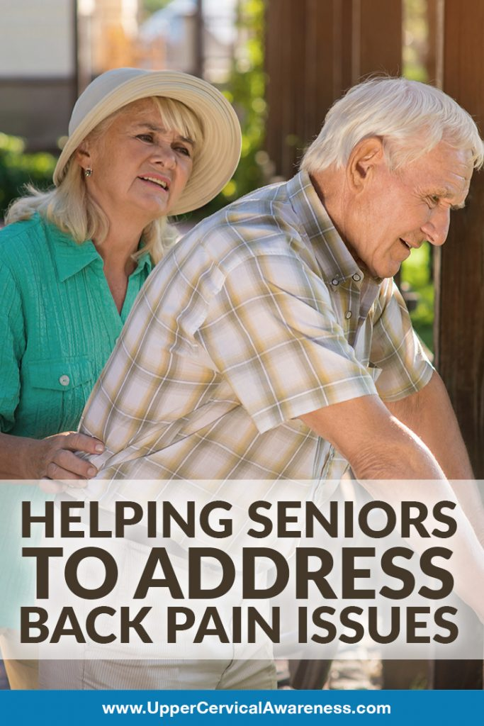 How to address back pain for seniors and elderly