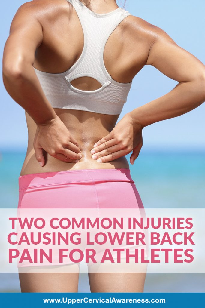 2 common injuries to athletes that causes back pain