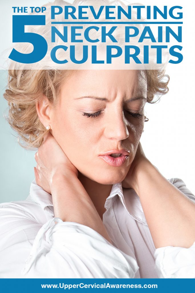 How to prevent the common 5 neck pain causes