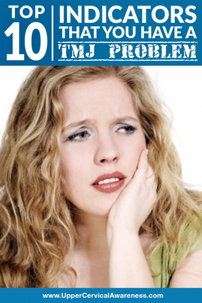 signs that a person has TMJ disorder