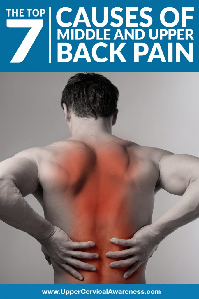 7 main causes of middle and upper back pain