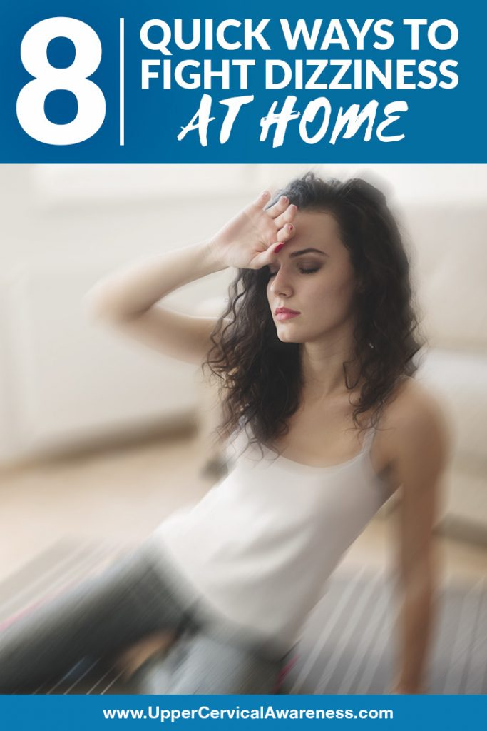 Ways to treat dizziness at home