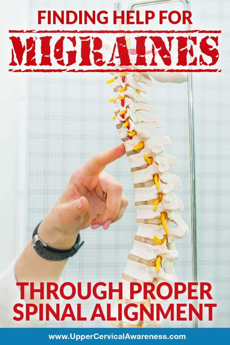 finding help for migraines through proper spinal alignment