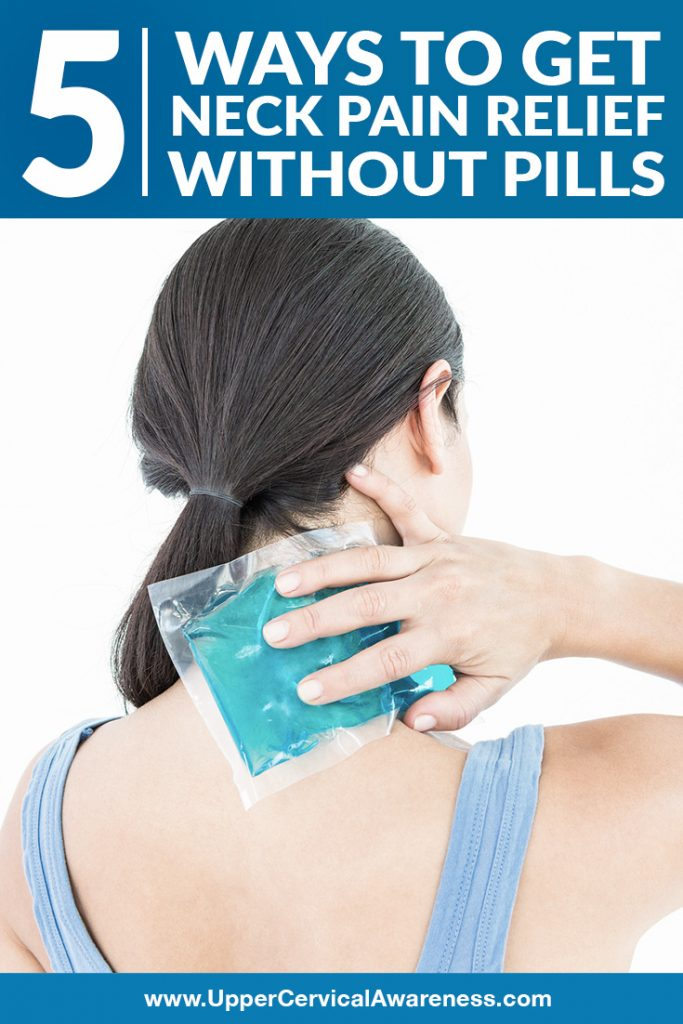 Drug free approach to manage neck pain