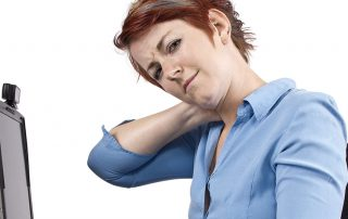 Ways desk job triggers neck pain