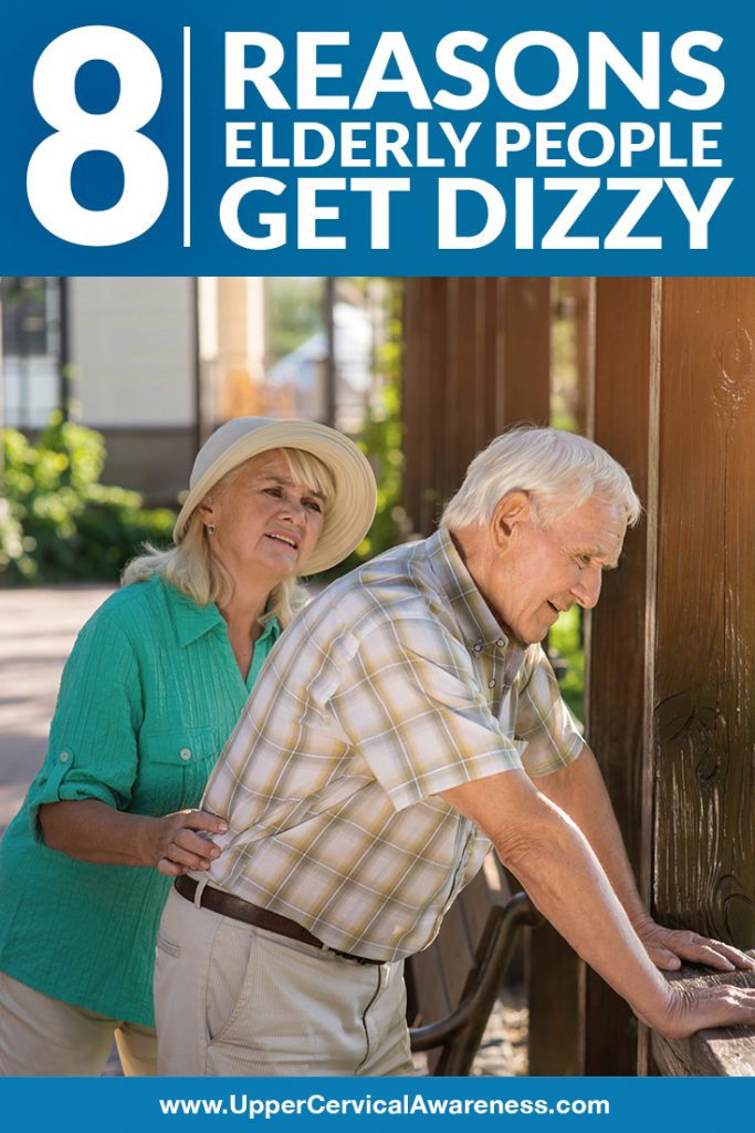 What causes dizziness in elderly people?