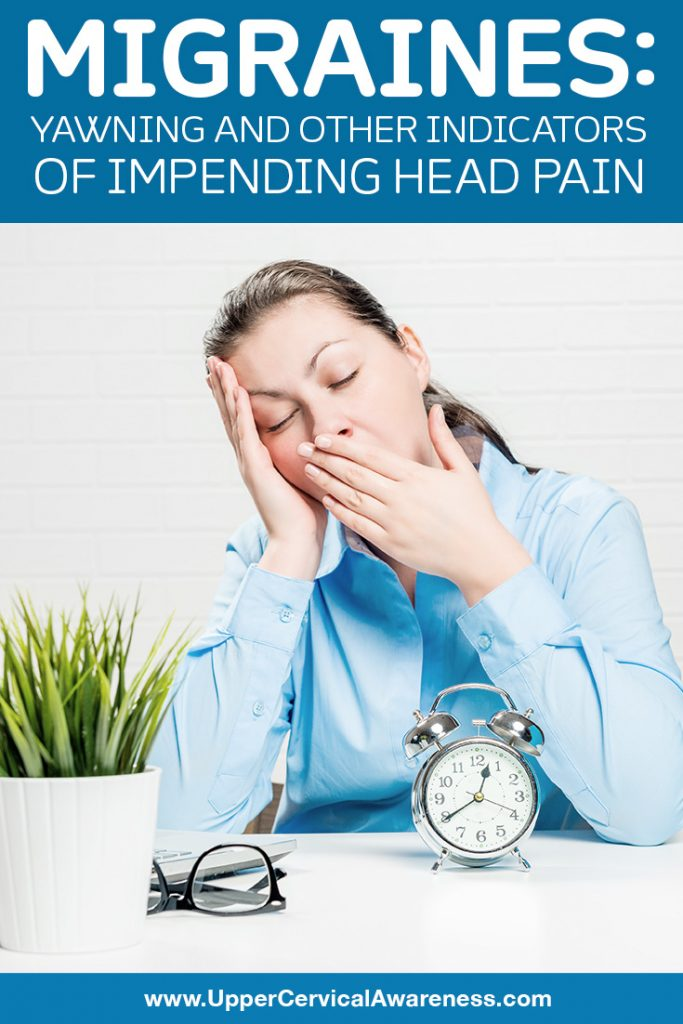 Yawning and other indicators of impending Migraine