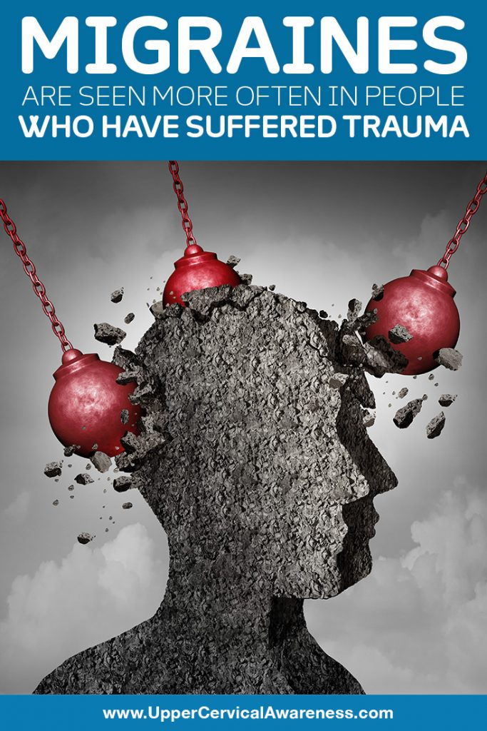 Why Migraine often seen in people who suffered trauma?