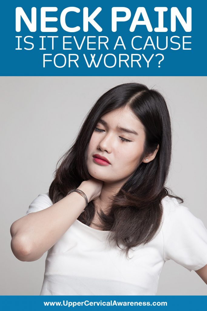 Should neck pain worth to be worried about?