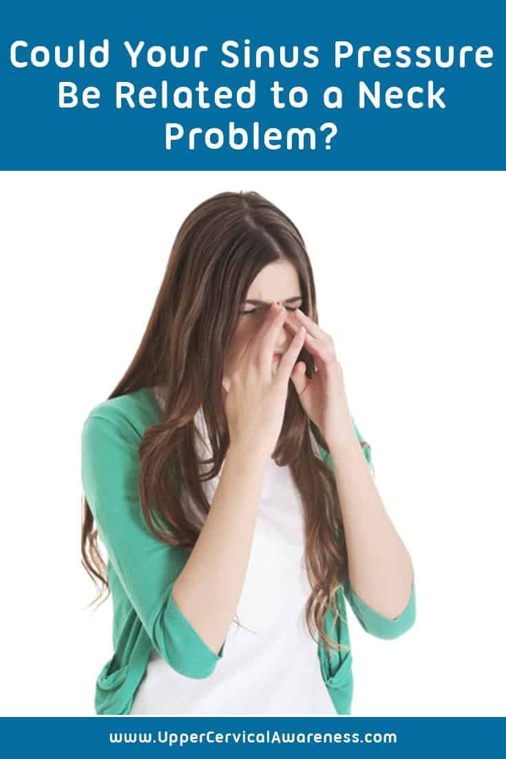 How sinus pressure and neck problem are related