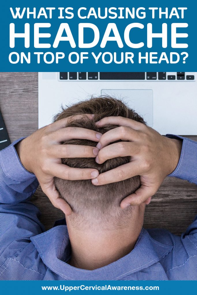 Causes of top of the head headache