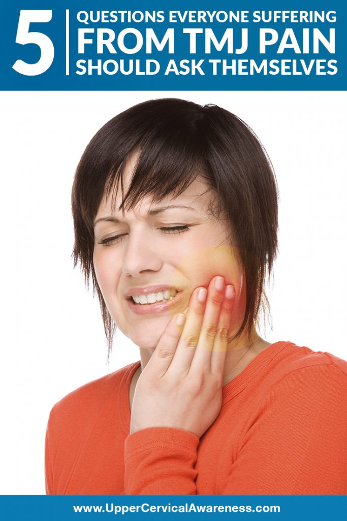 Questions to self by a person with a TMJ pain