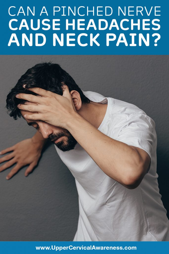 Connection of pinched nerve to Neck pain and headache