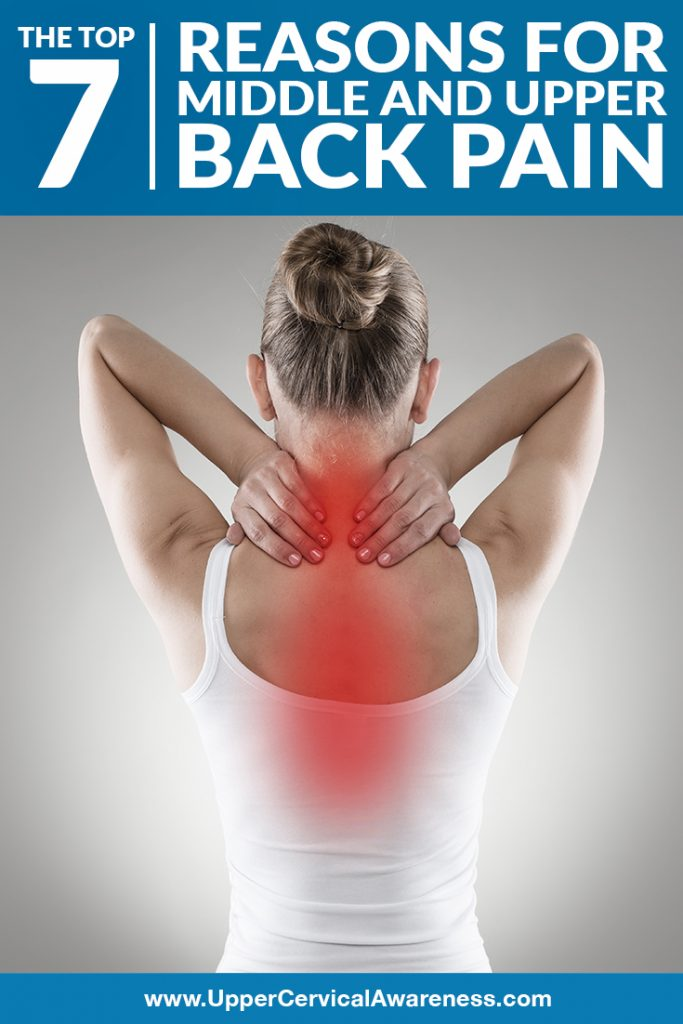 7 causes of middle and upper back pain