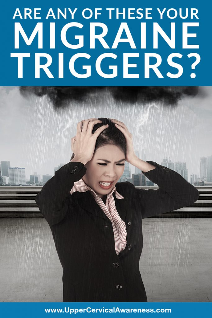 What are the common migraine triggers