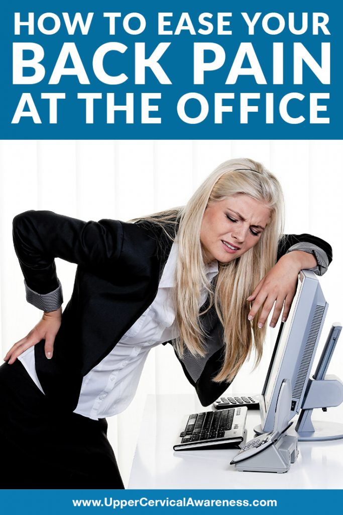 How to get relief from back pain at work