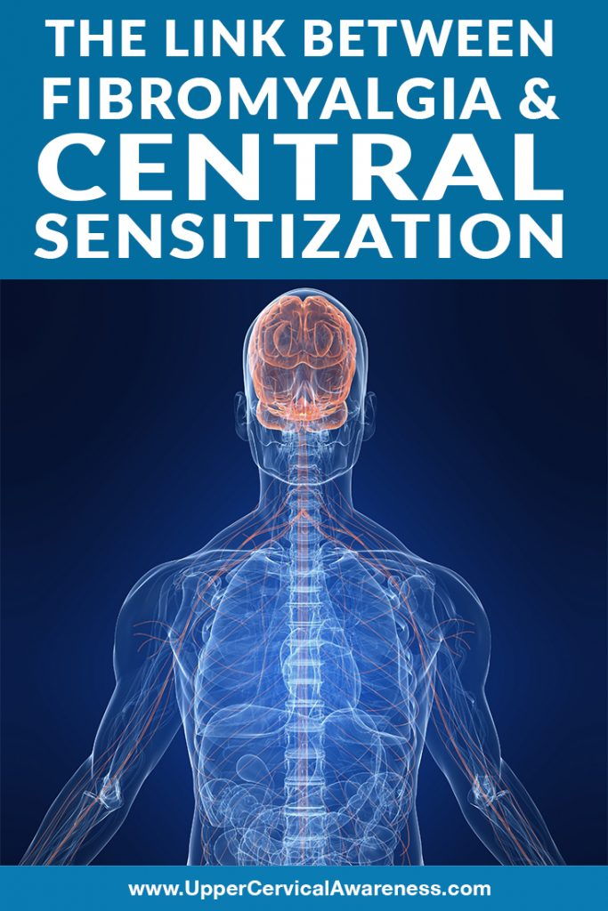 Link between fibromyalgia and central sensitization