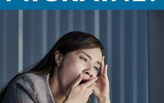 yawning, migraine and neck pain