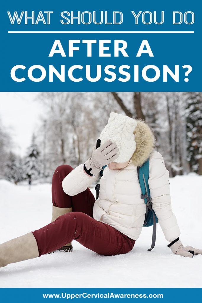concussion, neck pain after concussion