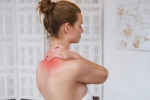 upper neck pain