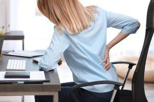work, backaches, atlas subluxation