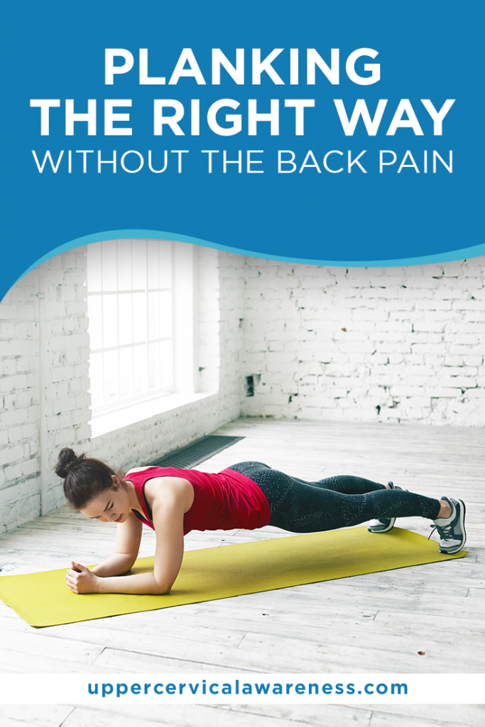 planking, upper cervical chiropractic