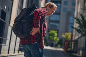 Backpack, ibuprofen for back pain