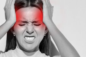 migraines, pain in the lower back of the head