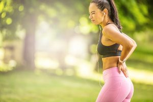 athlete, lower back pain and knee pain
