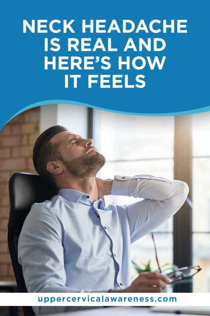Neck Headache, neck migraine, upper cervical care
